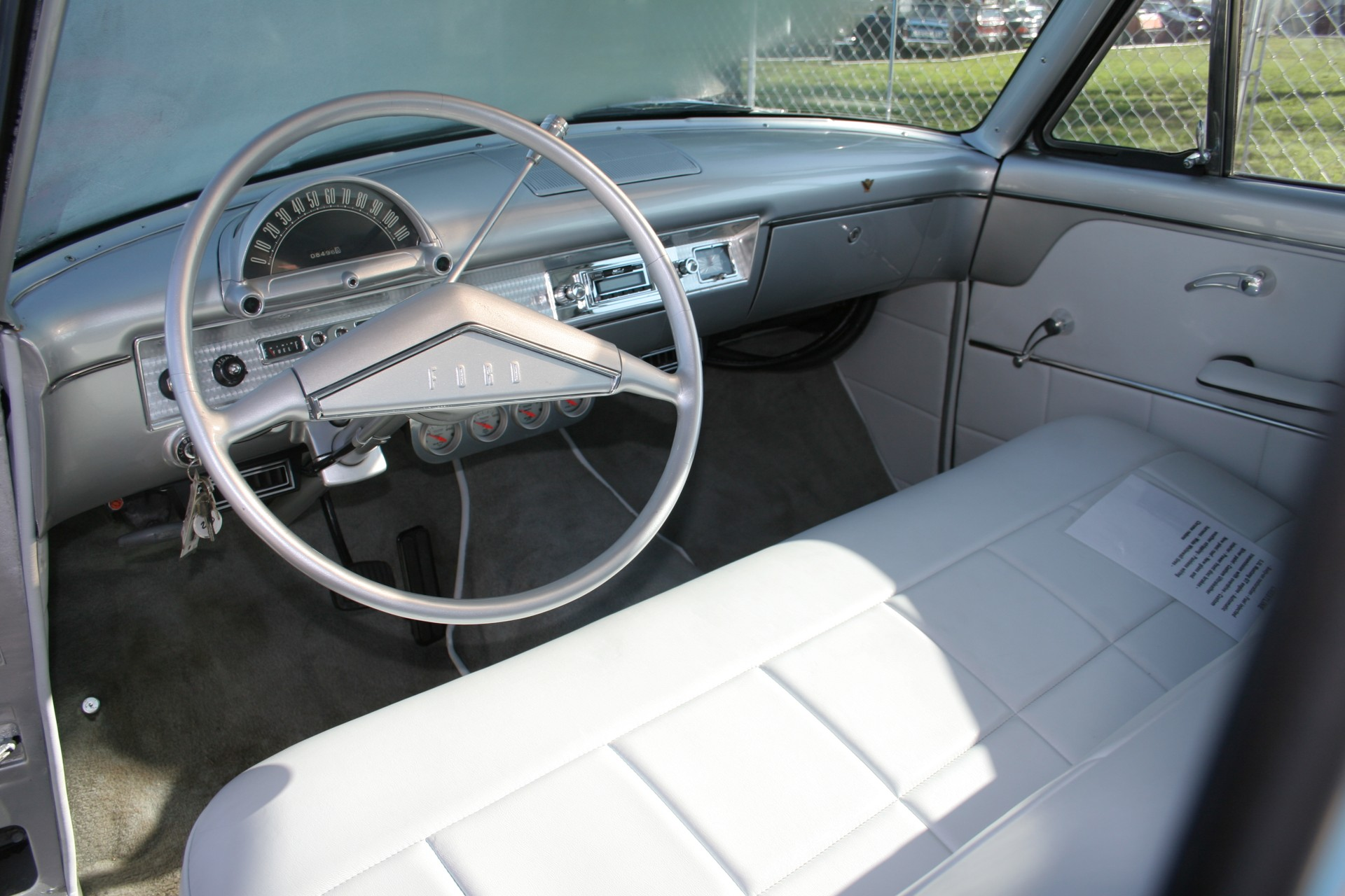 5th Image of a 1954 FORD CRESTLINE GLASS TOP RESTOMOD