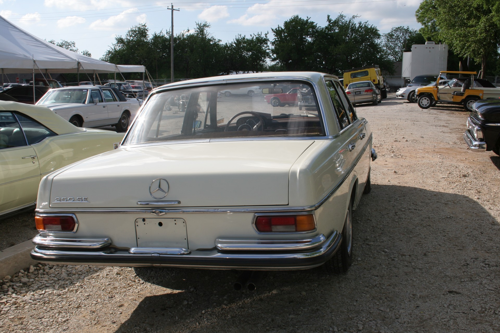 5th Image of a 1966 MERCEDES BENZ 250SE