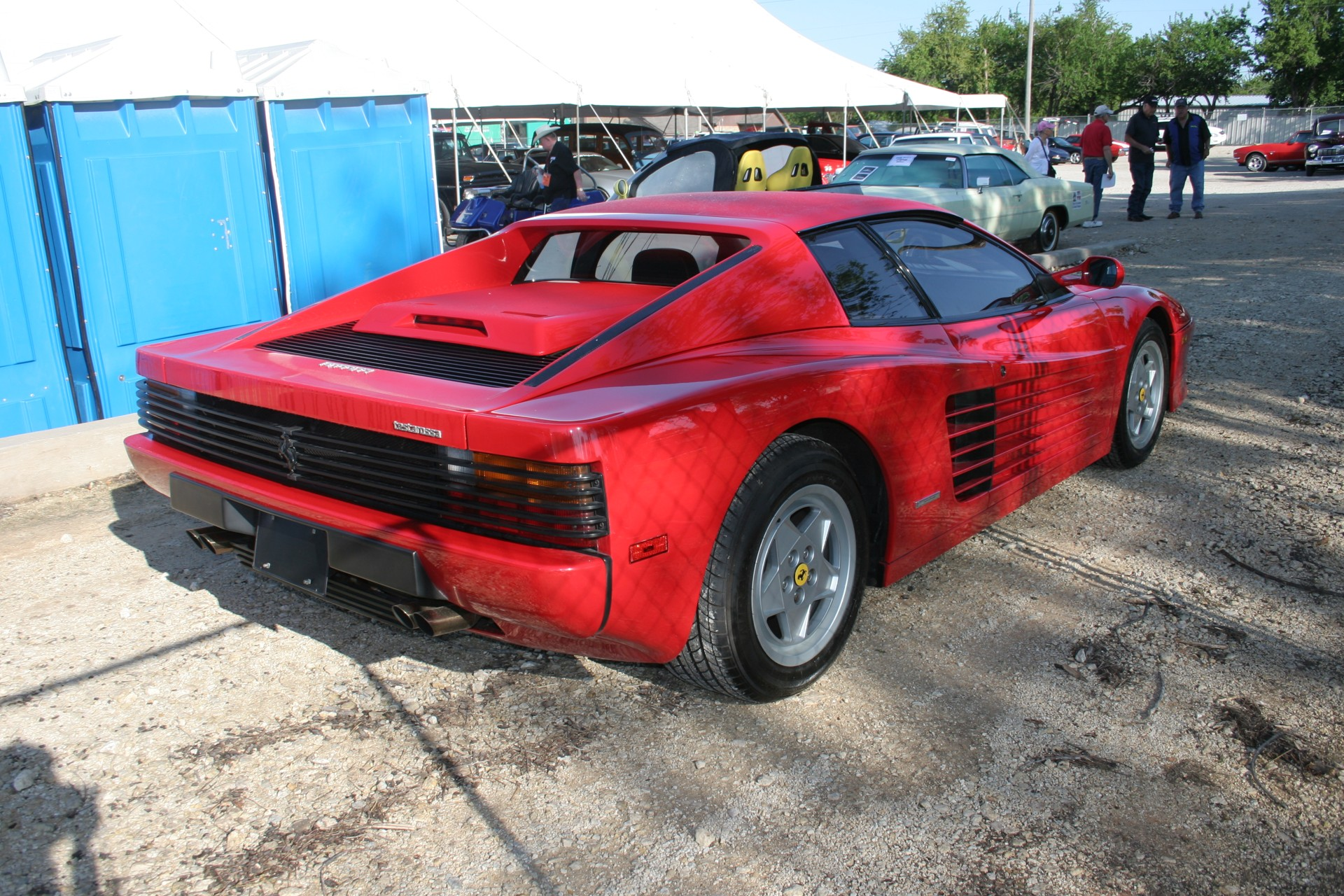 4th Image of a 1991 FERRARI TESTAROSSA USA