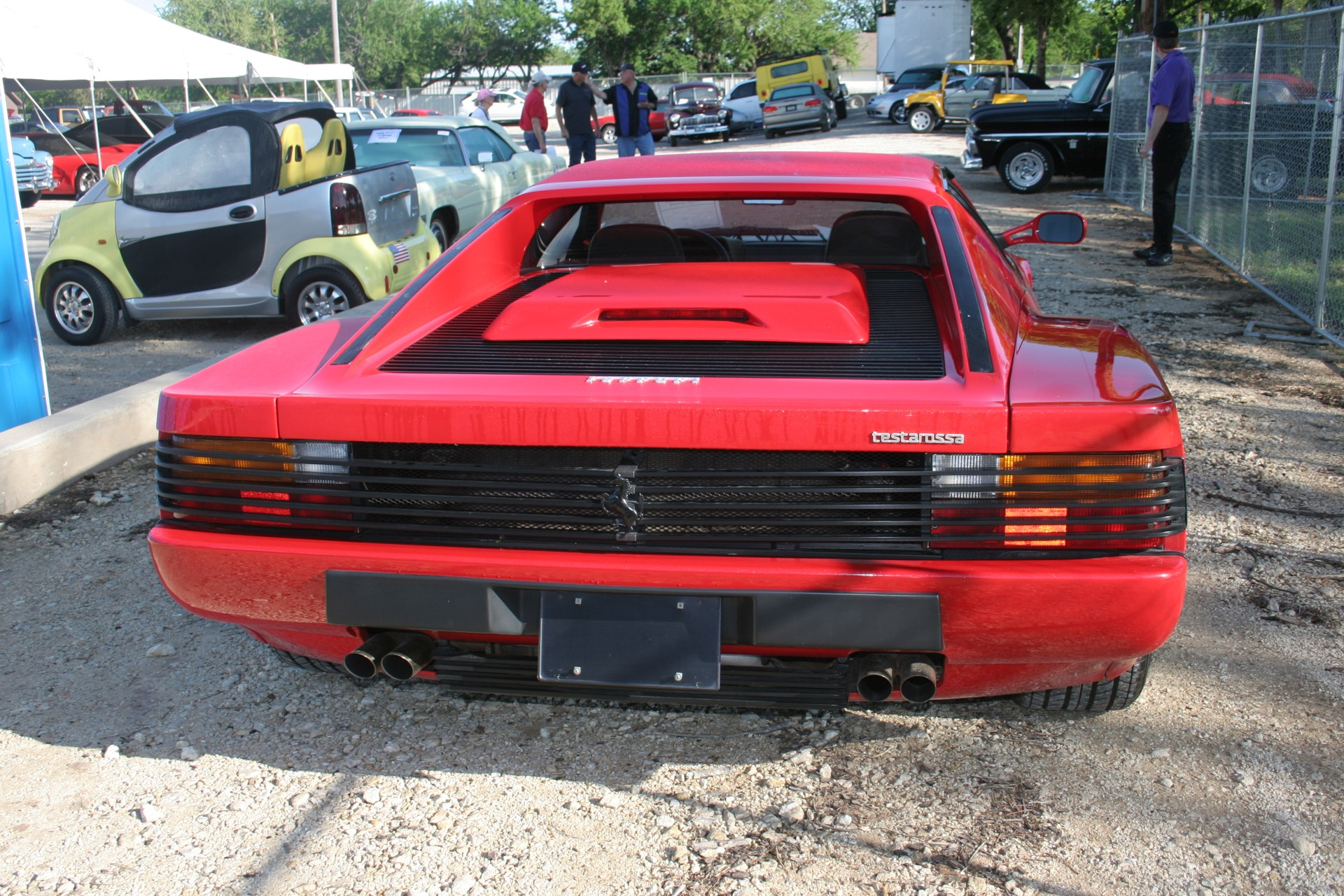 5th Image of a 1991 FERRARI TESTAROSSA USA