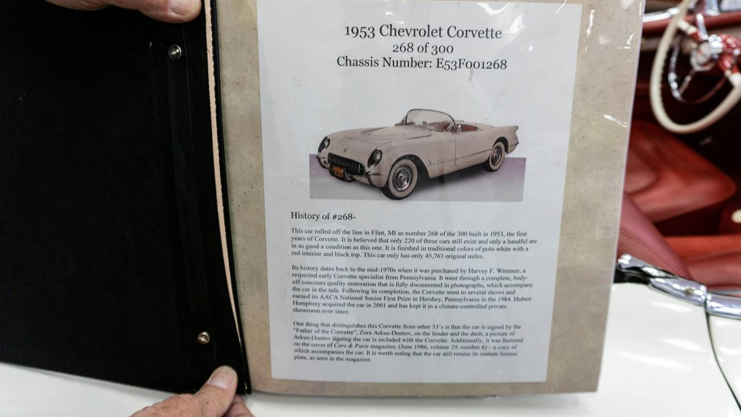 12th Image of a 1953 CHEVROLET CORVETTE