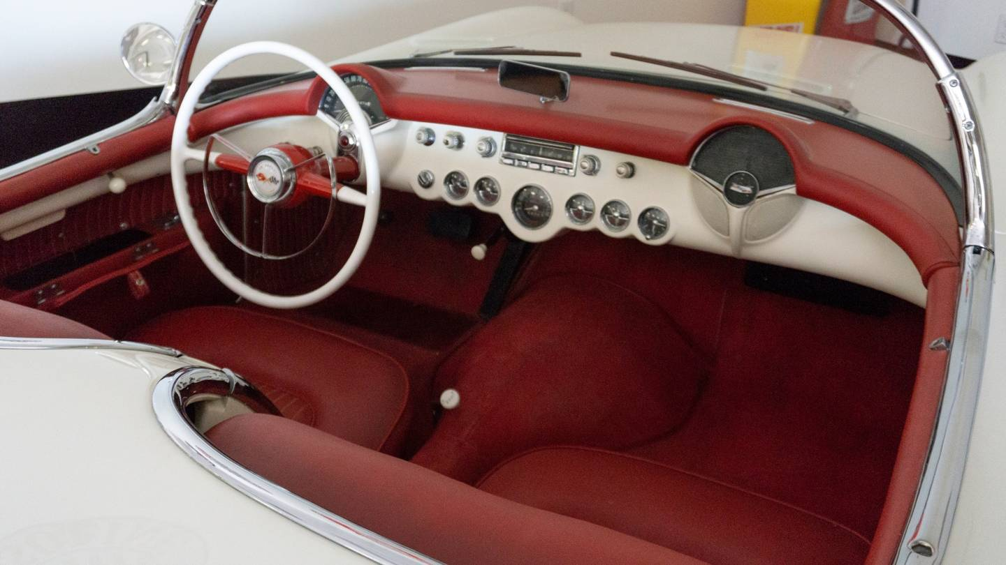 7th Image of a 1954 CHEVROLET CORVETTE