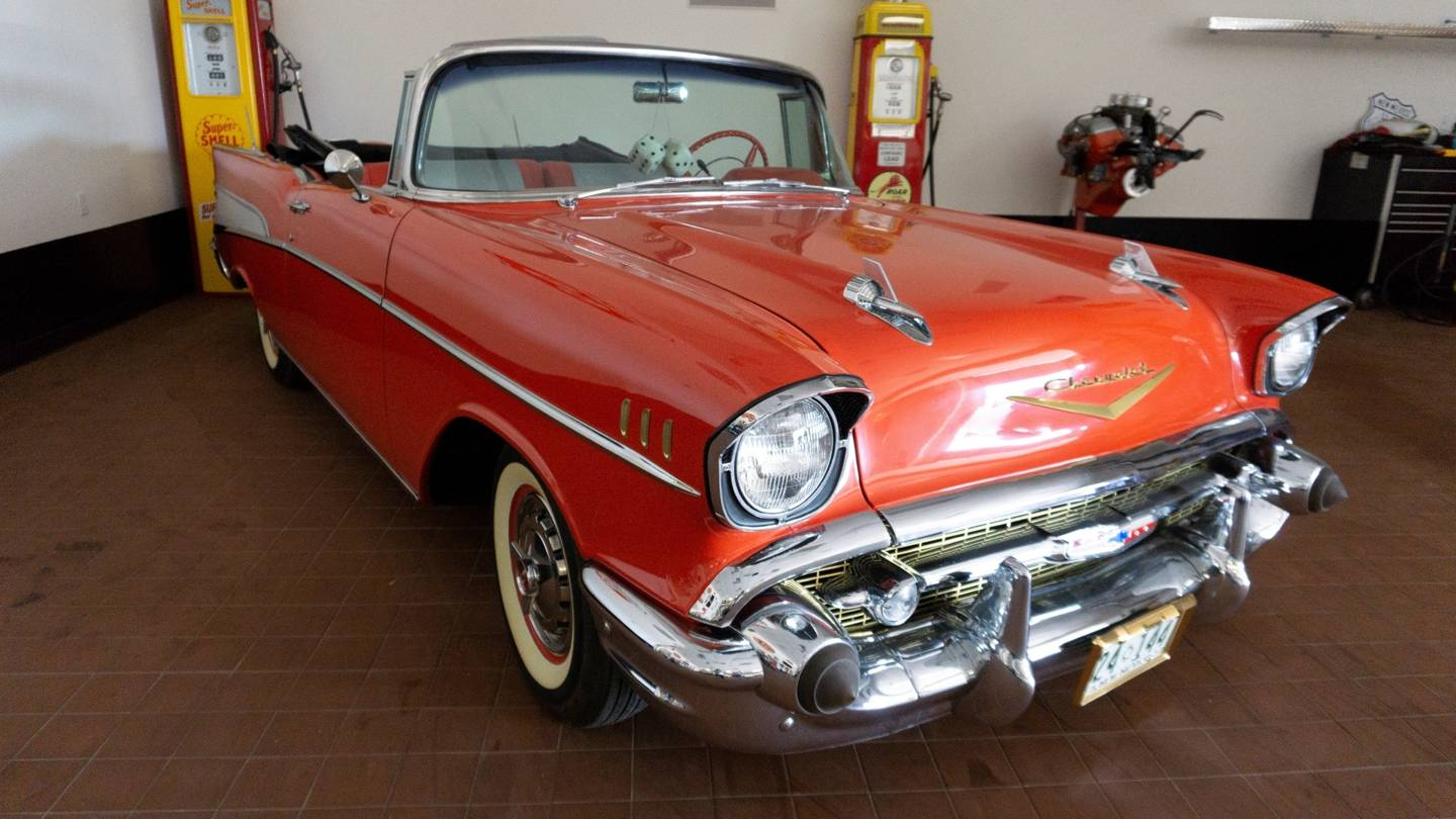 7th Image of a 1957 CHEVROLET BEL AIR