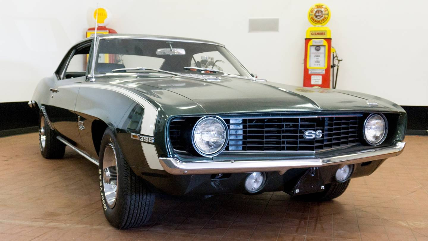 3rd Image of a 1969 CHEVROLET CAMARO SS