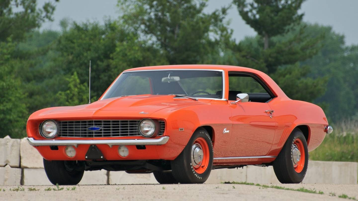 1st Image of a 1969 CHEVROLET CAMARO COPO