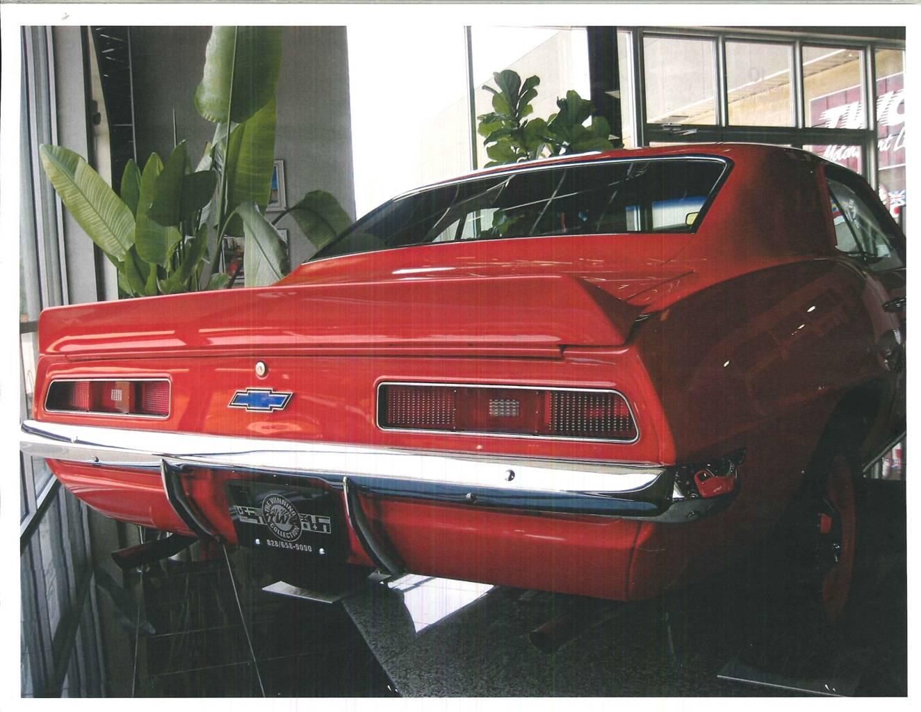 5th Image of a 1969 CHEVROLET CAMARO COPO