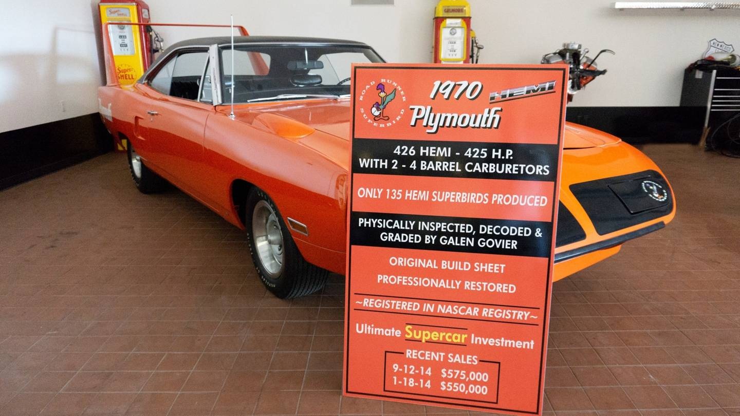 14th Image of a 1970 PLYMOUTH SUPERBIRD