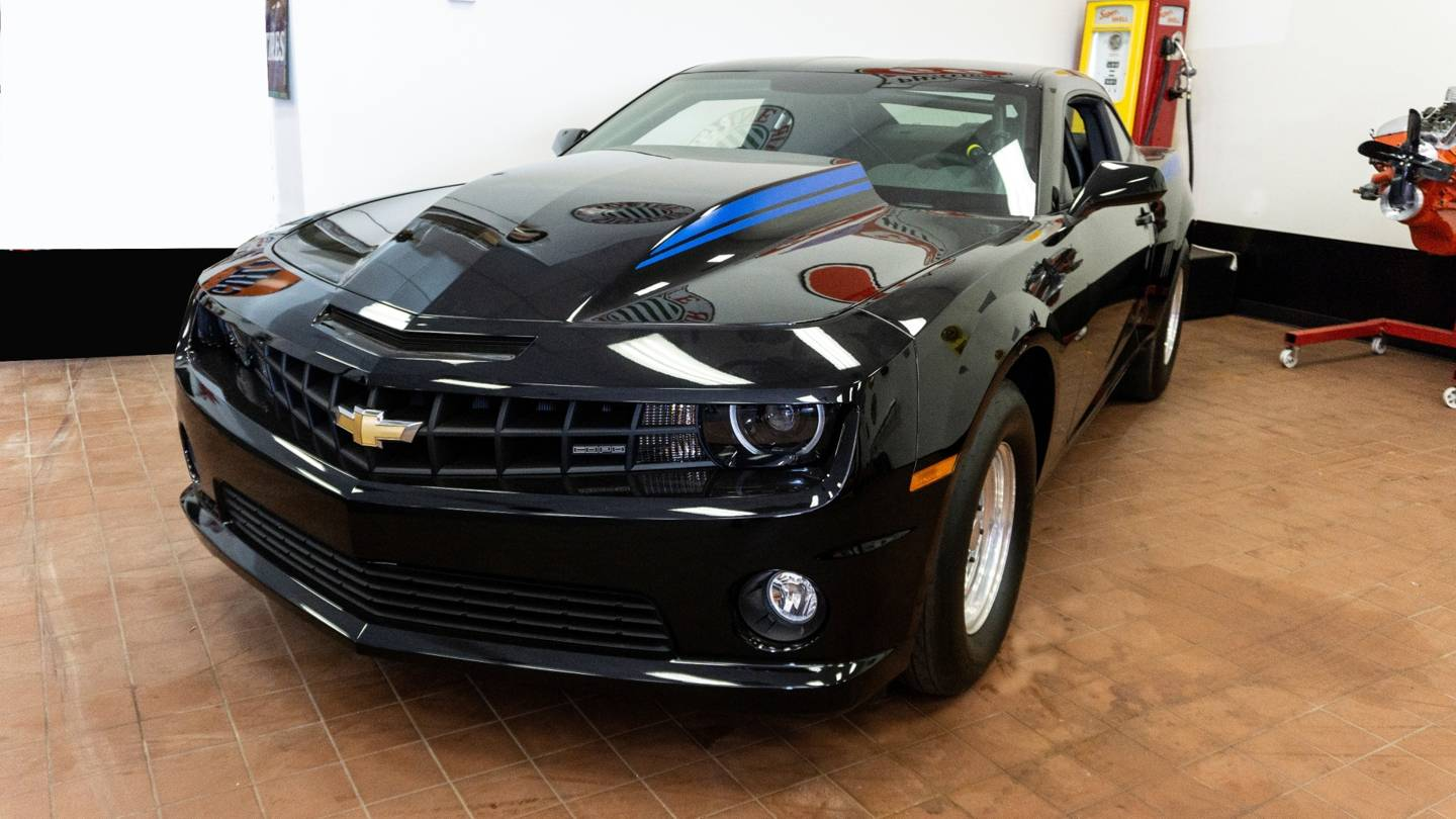 4th Image of a 2012 CHEVROLET CAMARO COPO