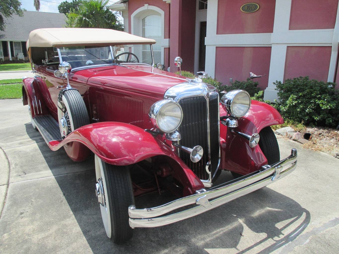 1st Image of a 1931 CHRYSLER DUALCOWL PHAETON