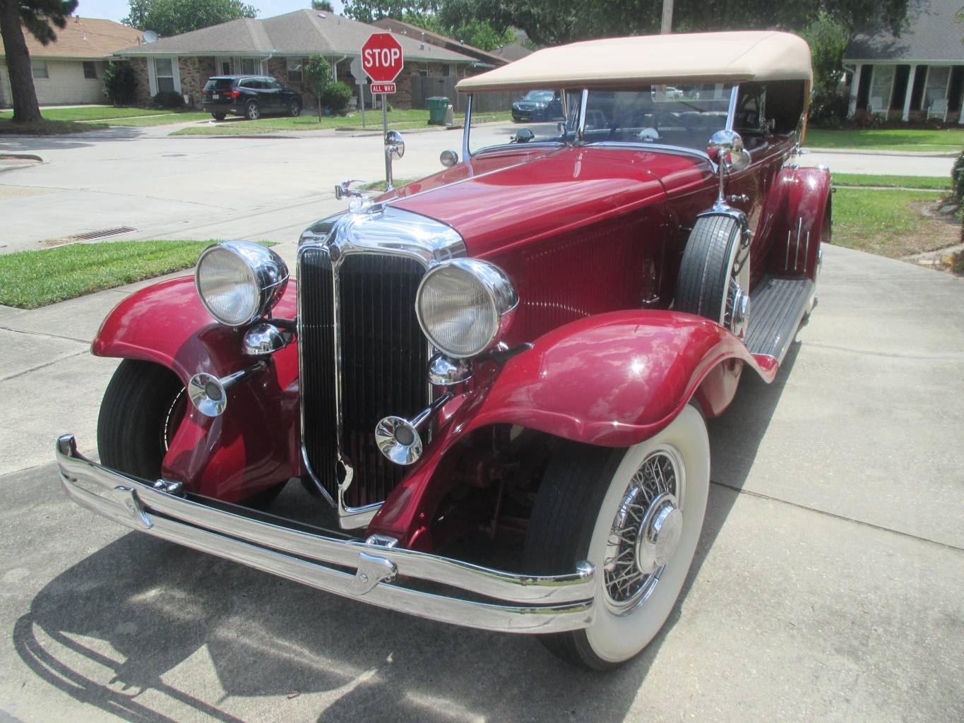 8th Image of a 1931 CHRYSLER DUALCOWL PHAETON
