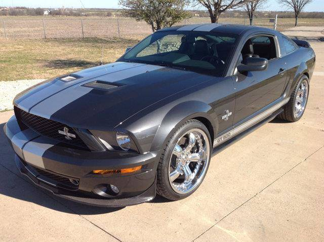 3rd Image of a 2007 FORD MUSTANG SHELBY GT500