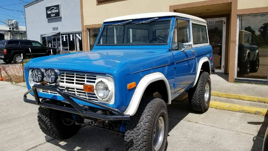 1st Image of a 1971 FORD BRONCO