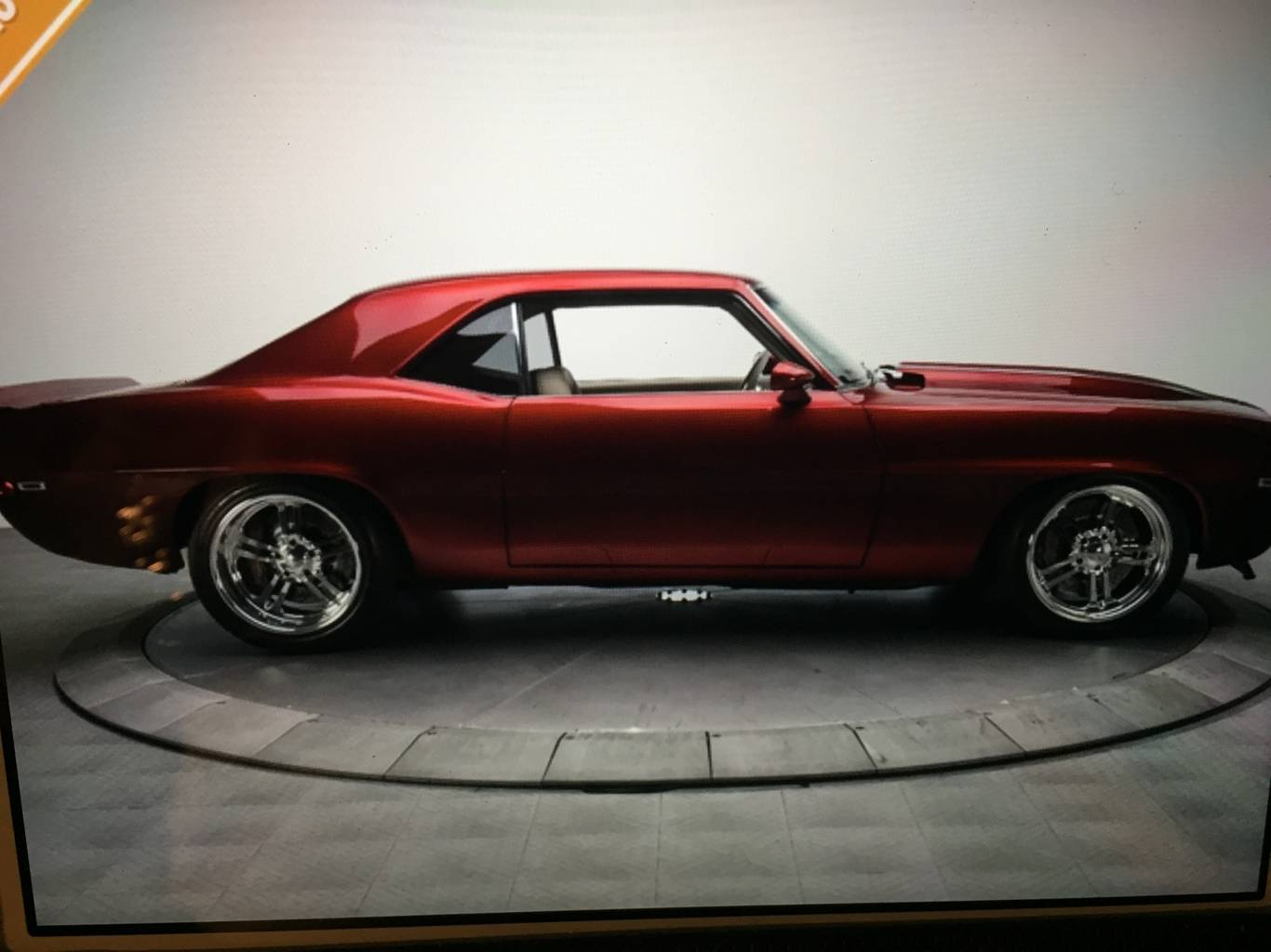 5th Image of a 1969 CHEVROLET CAMARO SS