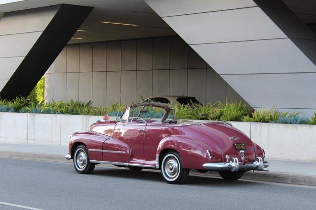 4th Image of a 1948 OLDSMOBILE DYNAMIC 66