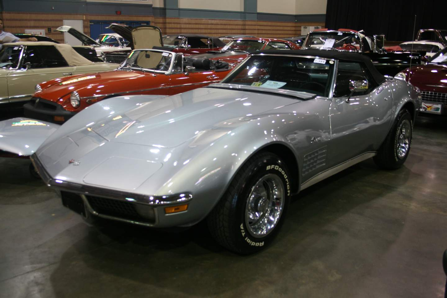 6th Image of a 1971 CHEVROLET CORVETTE STINGRAY