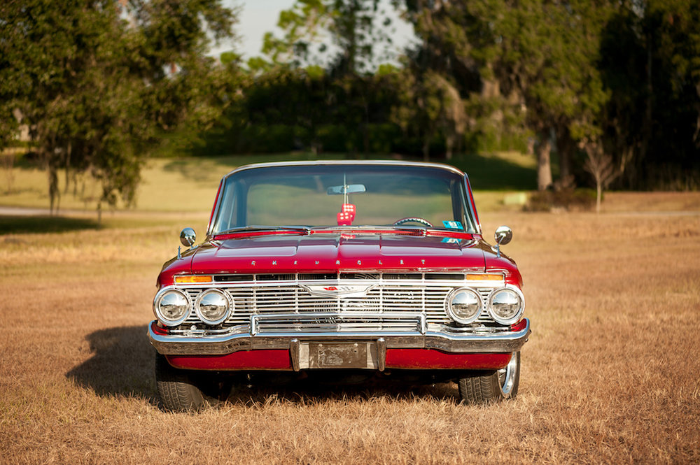 3rd Image of a 1961 CHEVROLET BELAIR BUBBLETOP