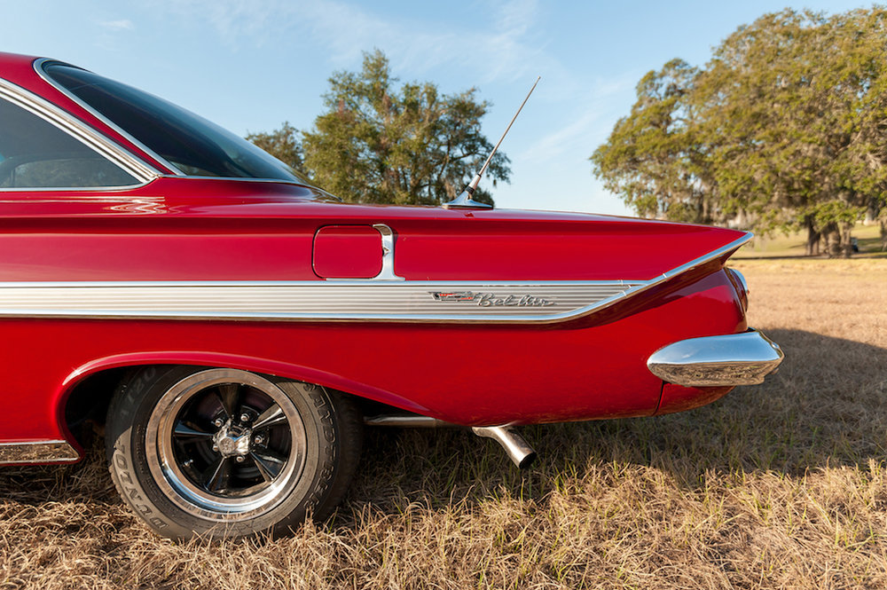 6th Image of a 1961 CHEVROLET BELAIR BUBBLETOP