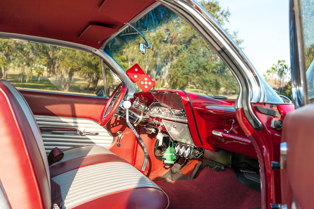 8th Image of a 1961 CHEVROLET BELAIR BUBBLETOP