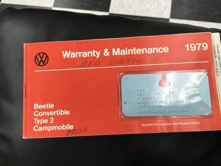 4th Image of a 1979 VOLKSWAGEN SUPER BEETLE