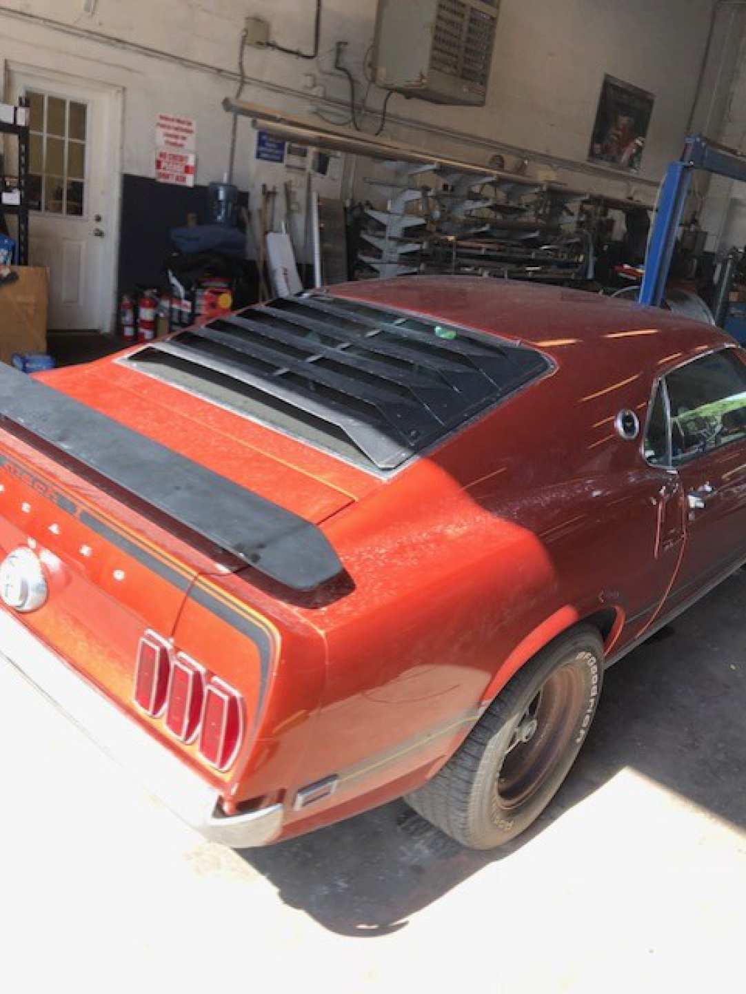 2nd Image of a 1969 FORD MUSTANG COBRA JET