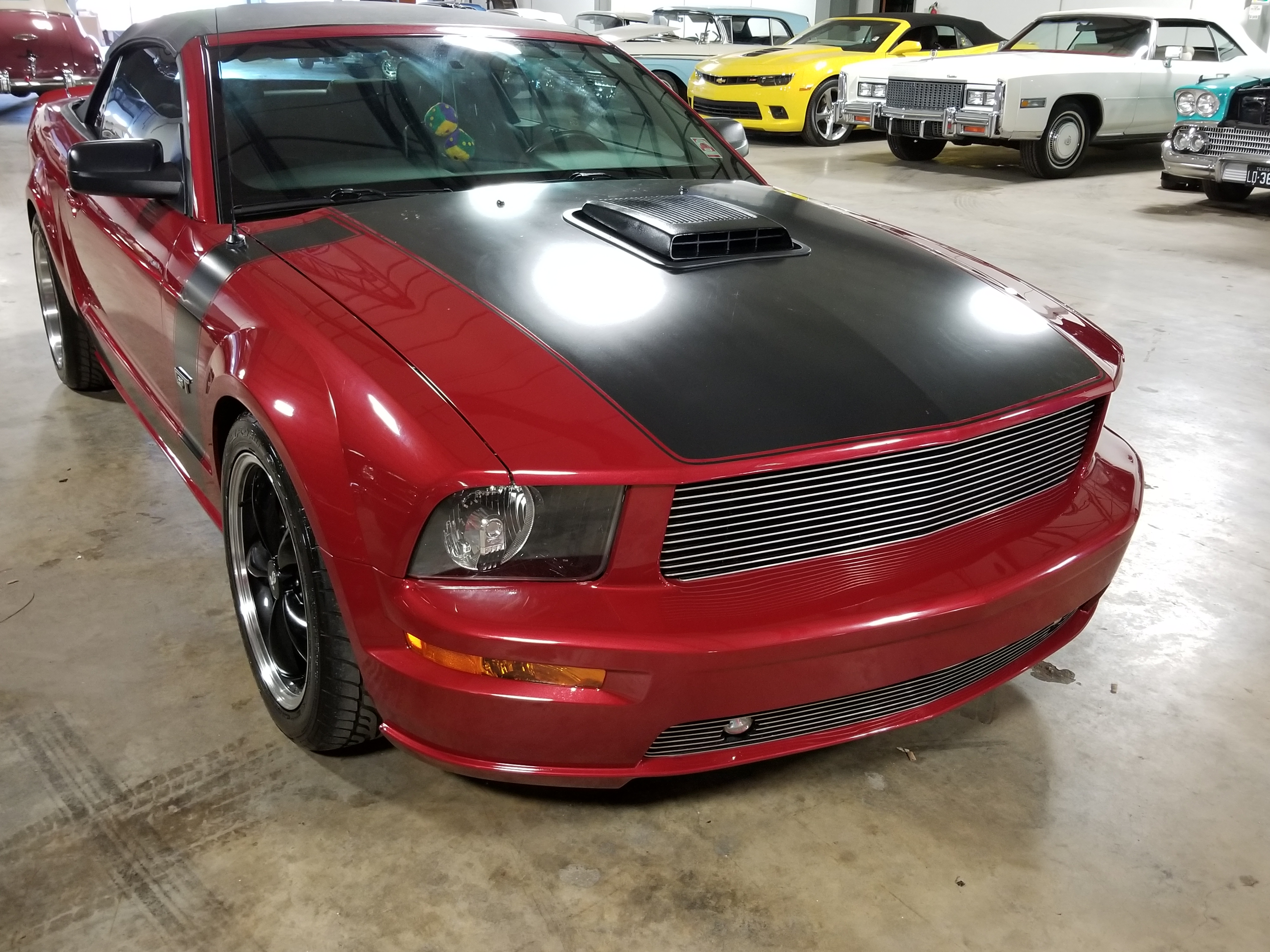 12th image of a 2008 ford mustang gtr