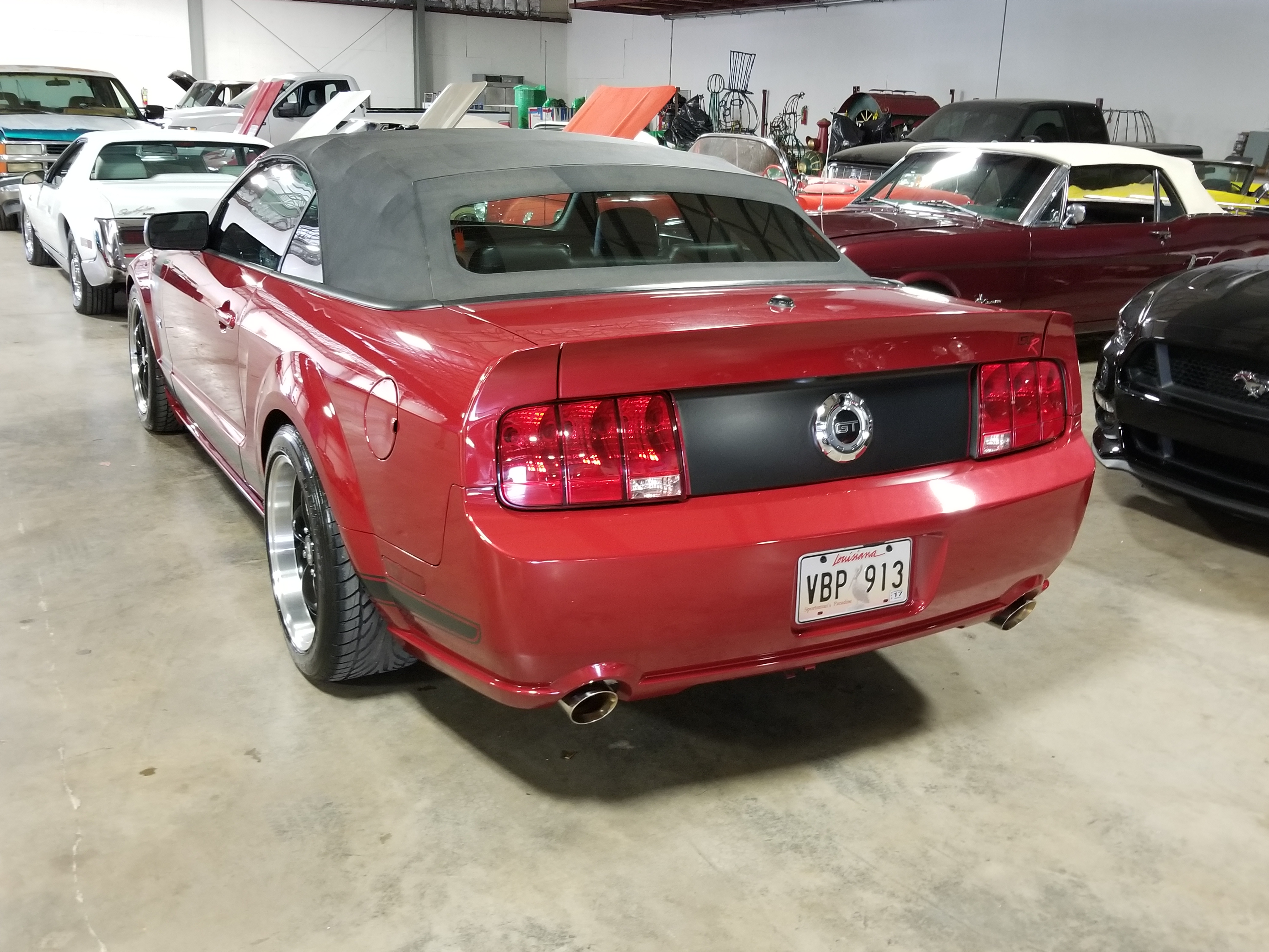 13th image of a 2008 ford mustang gtr