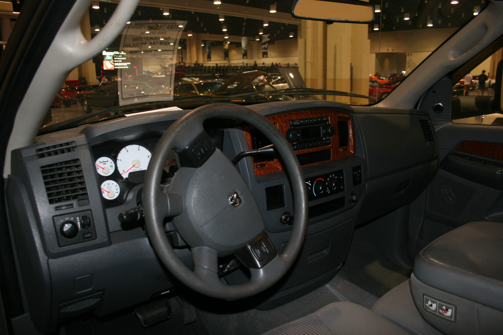 5th Image of a 2006 DODGE RAM PICKUP 2500