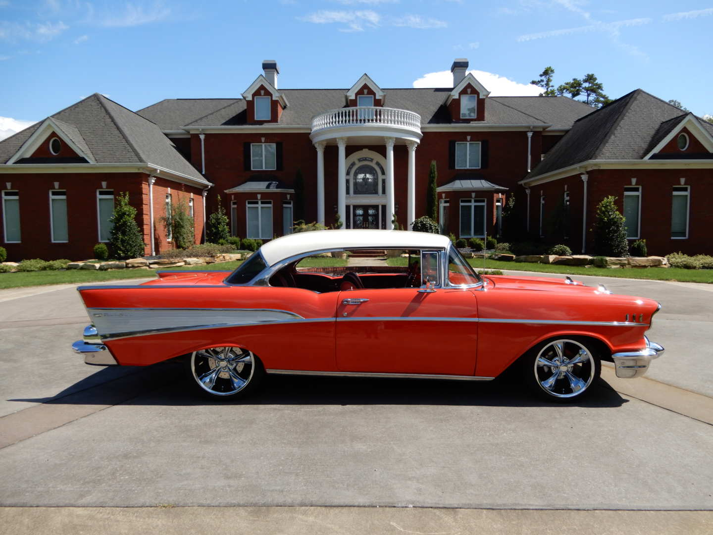 2nd Image of a 1957 CHEVROLET BEL-AIR