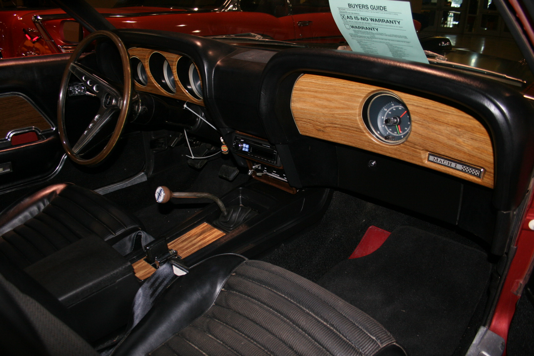 6th Image of a 1969 FORD MUSTANG