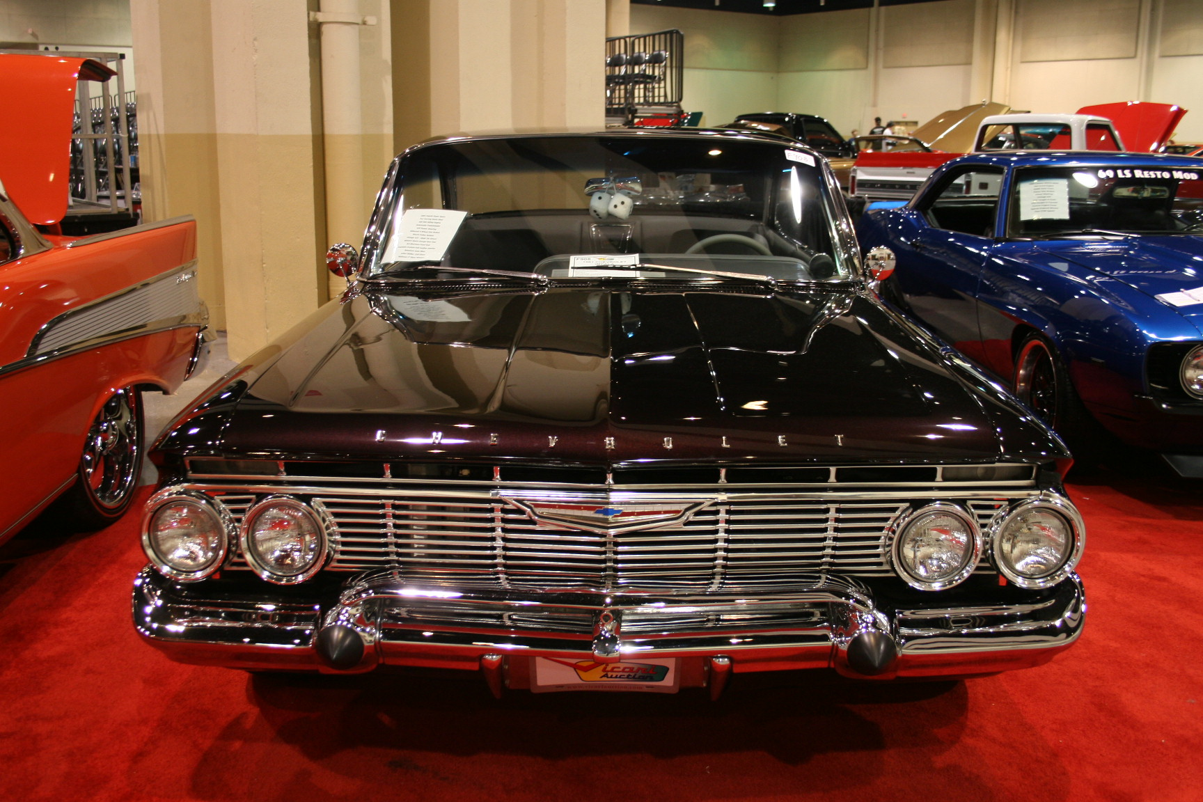 4th Image of a 1961 CHEVROLET IMPALA