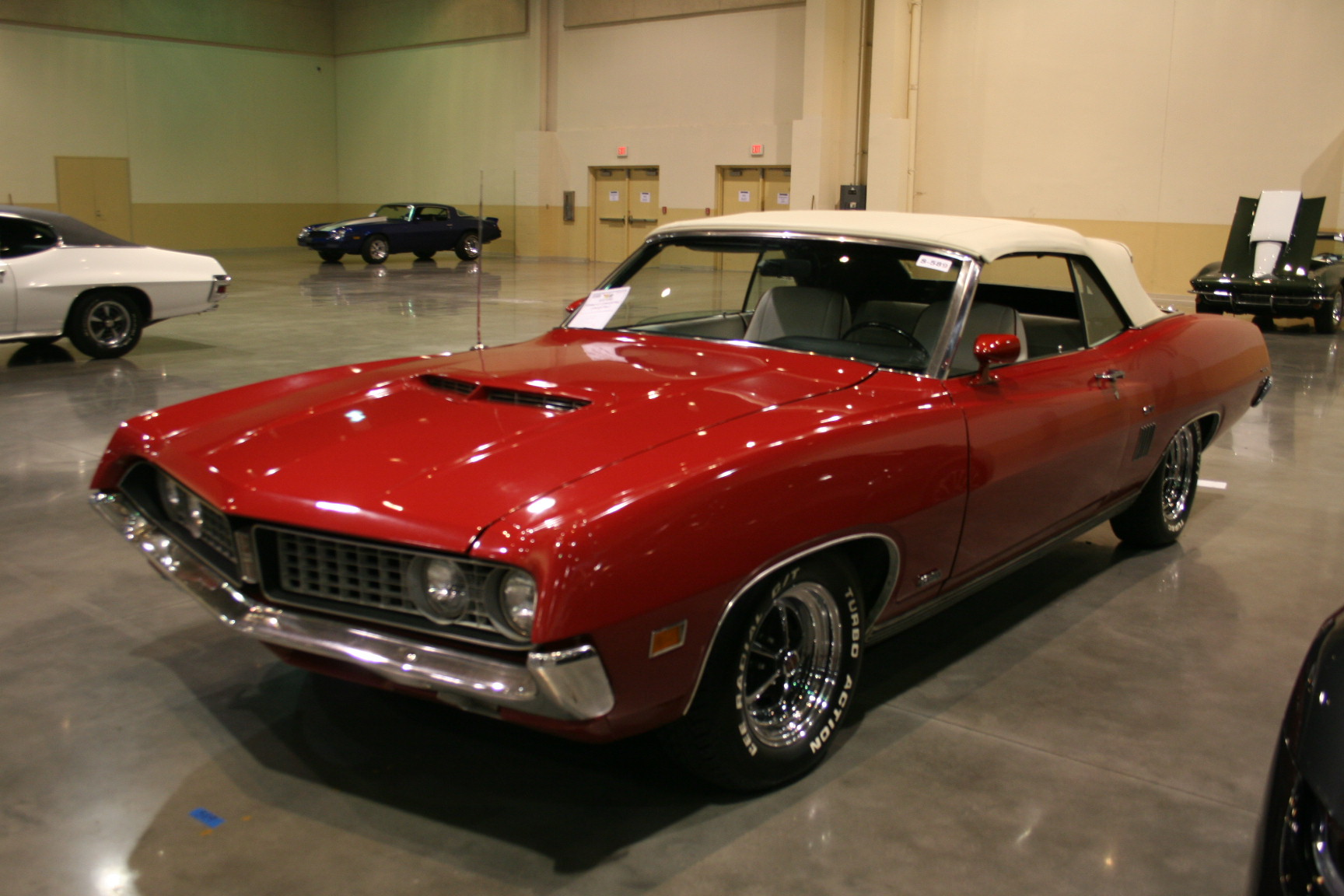 2nd Image Of A 1970 Ford Torino Gt Convertible