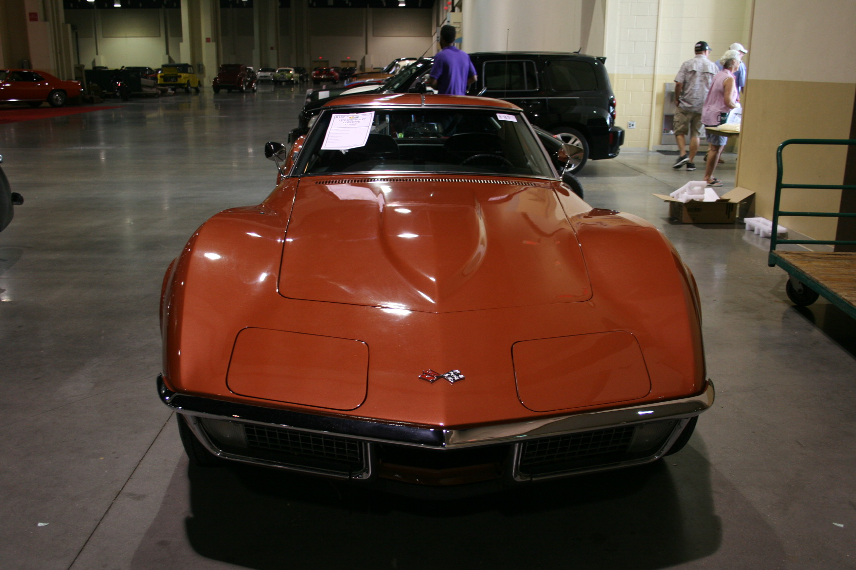 10th Image of a 1970 CHEVROLET CORVETTE