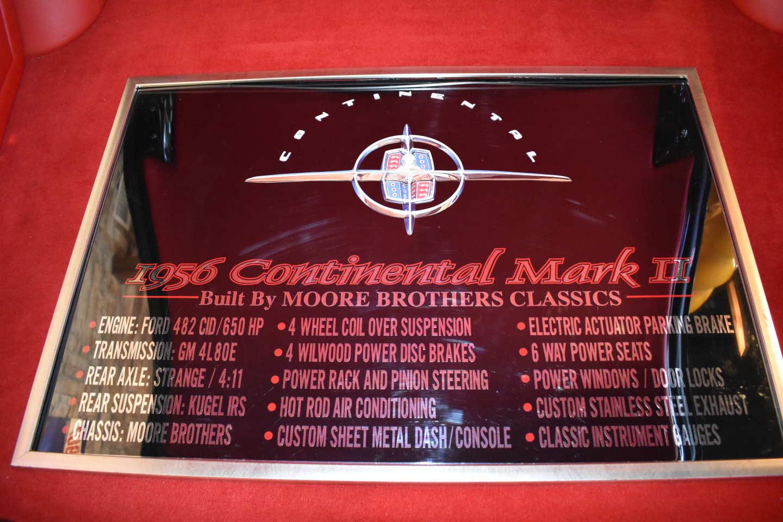 15th Image of a 1956 LINCOLN MARK II RESTO MOD