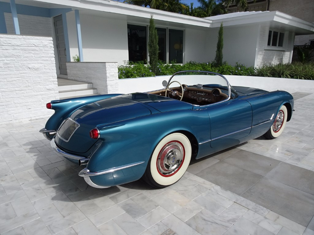 4th Image of a 1954 CHEVROLET CORVETTE