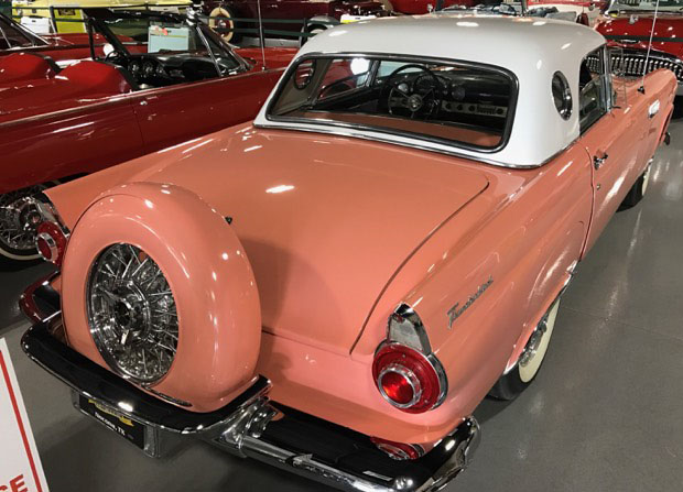 2nd Image of a 1956 FORD THUNDERBIRD