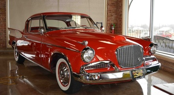 3rd Image of a 1957 STUDEBAKER GOLDEN HAWK