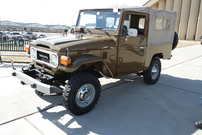 10th Image of a 1980 TOYOTA FJ43 LAND CRUISER