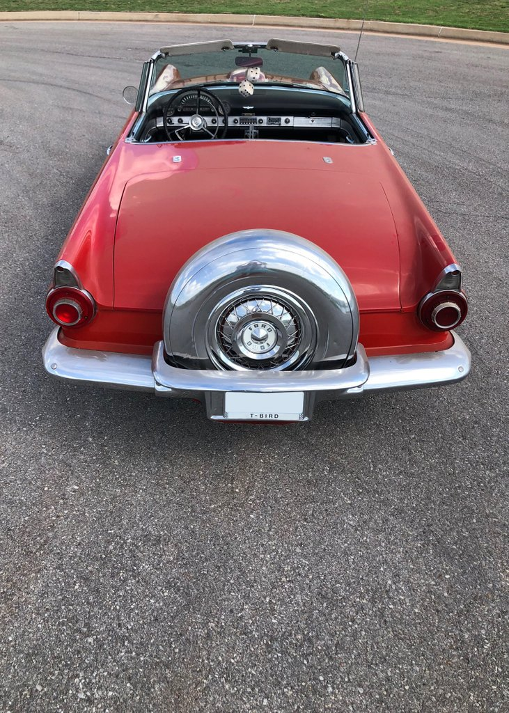 8th Image of a 1956 FORD THUNDERBIRD