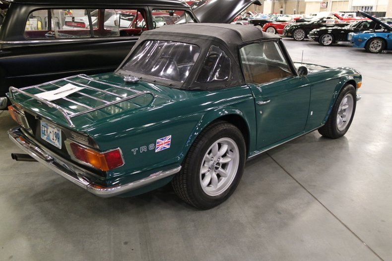 2nd Image of a 1972 TRIUMPH TR6