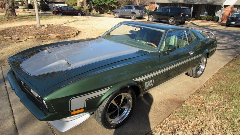 2nd Image of a 1971 FORD MUSTANG MACH I