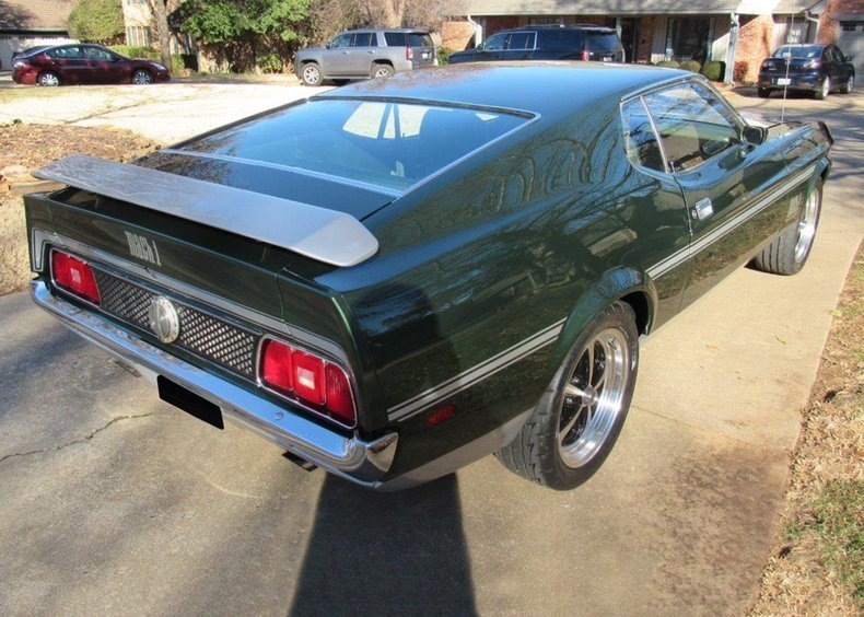 3rd Image of a 1971 FORD MUSTANG MACH I