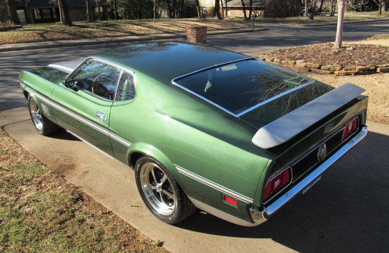 4th Image of a 1971 FORD MUSTANG MACH I