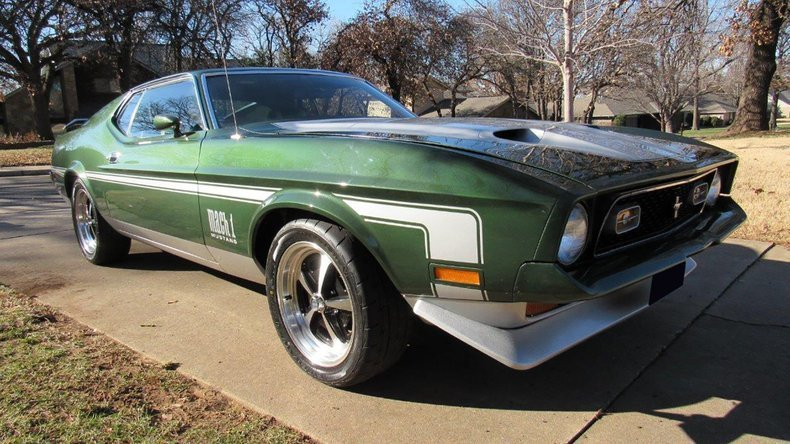 6th Image of a 1971 FORD MUSTANG MACH I