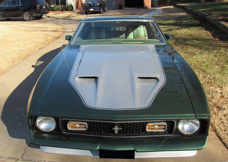 7th Image of a 1971 FORD MUSTANG MACH I