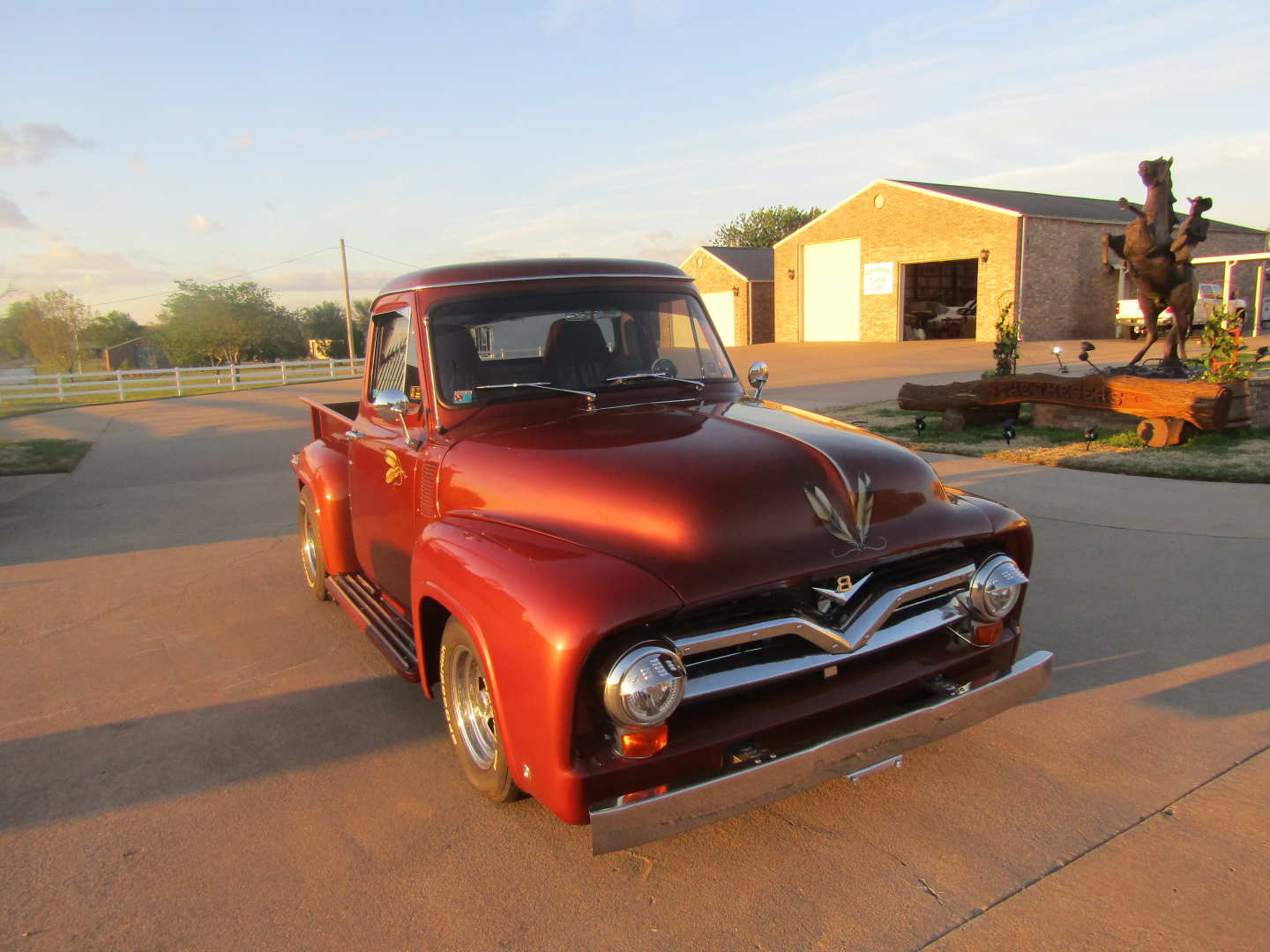 4th Image of a 1955 FORD F100