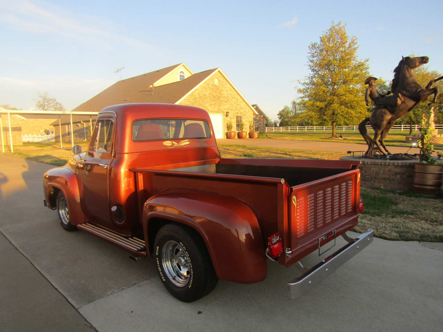 1955 FORD F100 For Sale at Vicari Auctions Nocona, Tx 2019