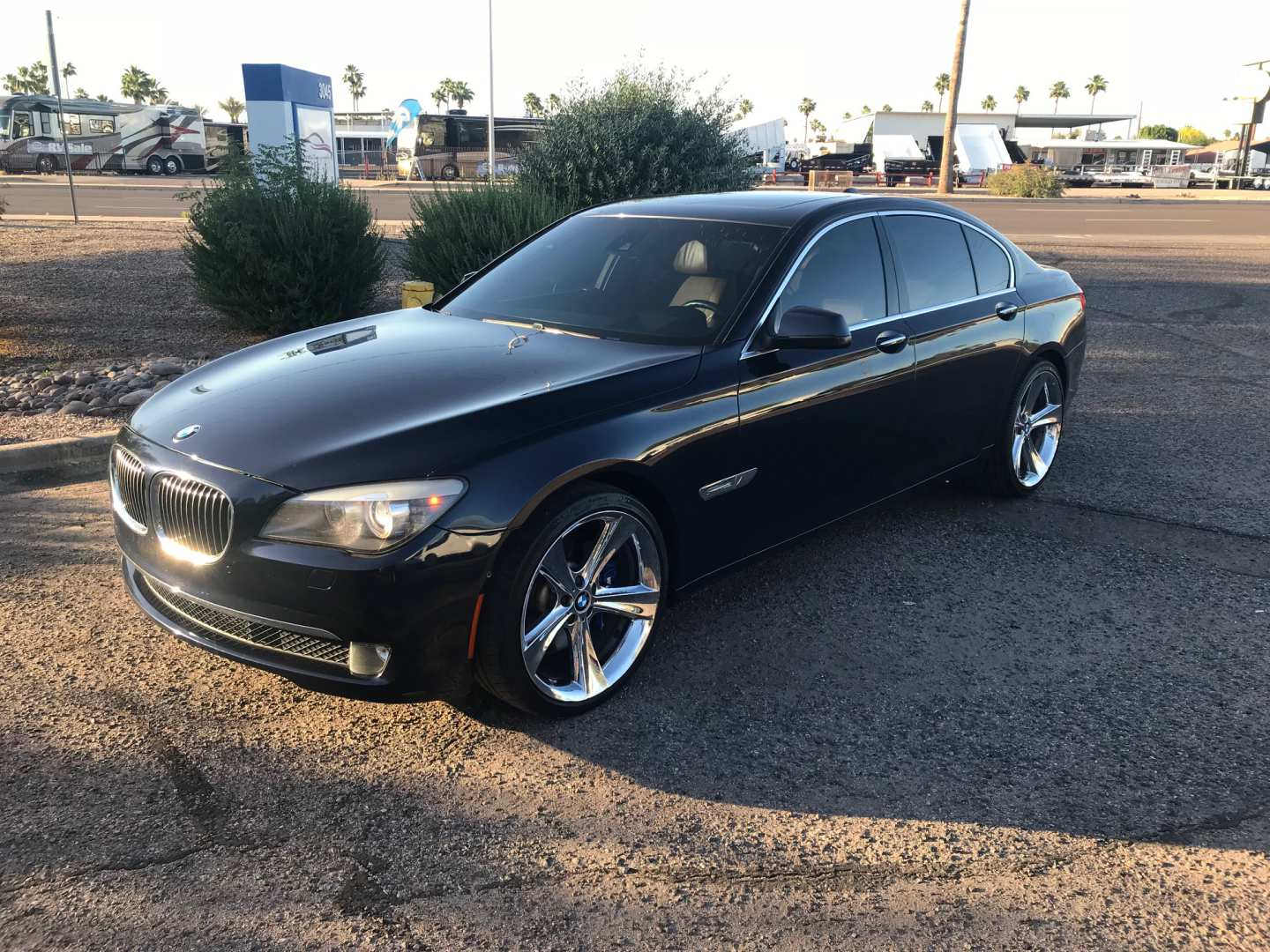 10th Image of a 2011 BMW 7 SERIES 750I ACTIVEHYBRID