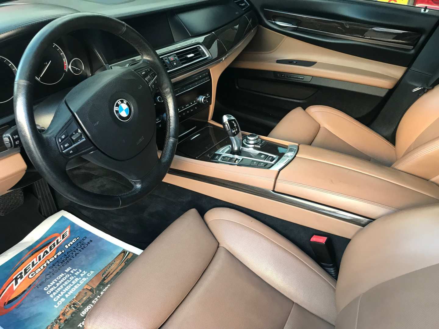 6th Image of a 2011 BMW 7 SERIES 750I ACTIVEHYBRID