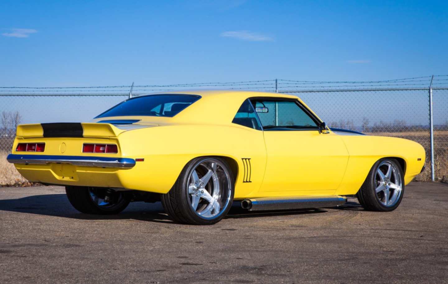 4th Image of a 1969 CHEVROLET CAMARO