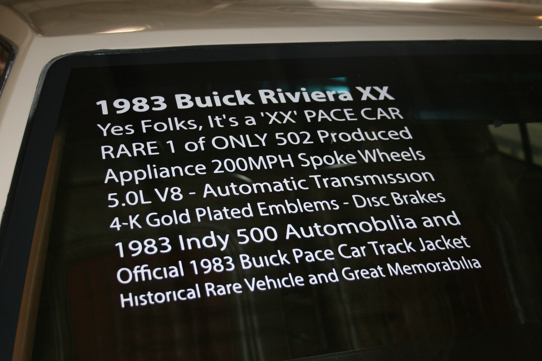 4th Image of a 1983 BUICK RIVIERA